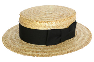 chapeau canotier olney 1
