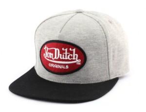 casquette-strapback-von-dutch-original-grise-et-noire